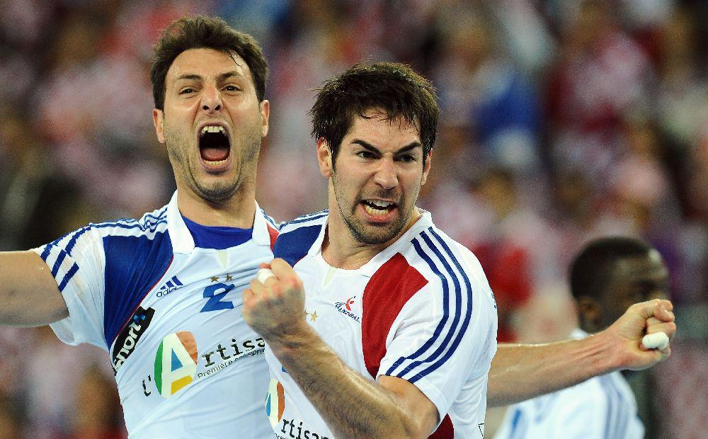 Jérôme Fernandez et Nikola Karabatic champions du Monde en Croatie