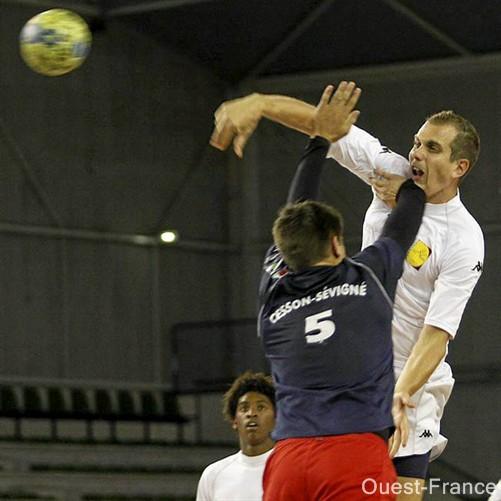 H Nantes contre Cesson
