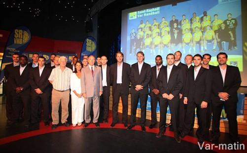 présentation de l'équipe de Saint-Raphaël