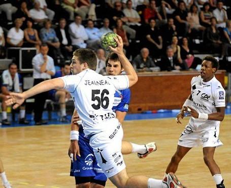Cédric Jeauneau contre Montpellier